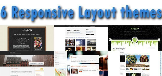 6 responsive layout theme