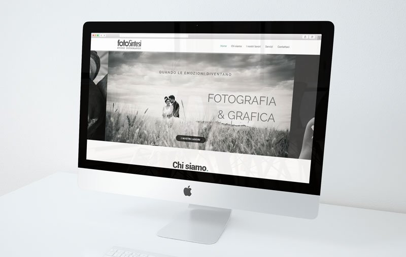Fotosintesi Studio Fotografico – Restyling Sito Web