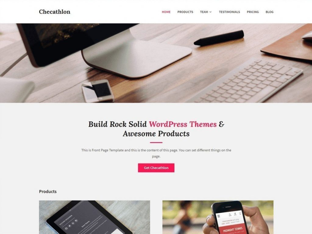 Checathlon - Temi free dal WordPress Repository