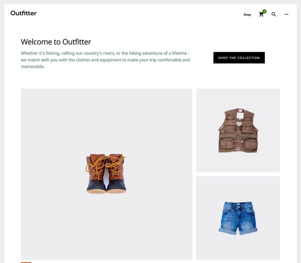 Outfitter Pro Theme