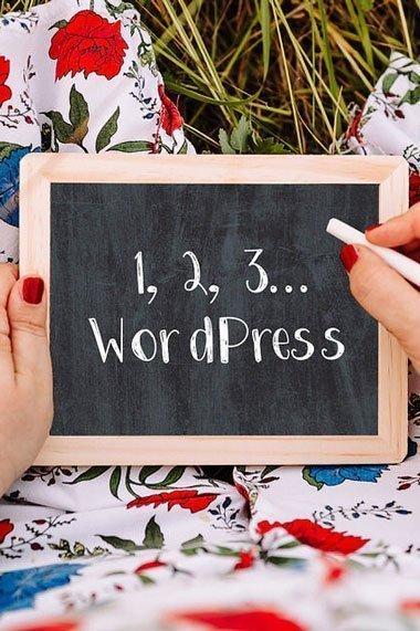 1, 2, 3... WordPress! - Videocorso per costruire da soli il proprio sito web prefessionale imparando WordPress 5 Gutenberg
